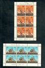 NEW ZEALAND 1967 Health. Set of 2 miniature sheets. - 50606 - FU