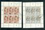 NEW ZEALAND 1972 Health. Set of 2 miniature sheets. - 50608 - FU