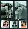 GIBRALTAR 1999 30th Anniversary of the Wedding oif John Lennon and Yoko Ono. Set of 3 and 2 miniature sheets. - 50611 - UHM