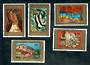FRENCH POLYNESIA 1972 Paintings by Polynesian Artists. Sixth series. Set of 5. - 50622 - UHM