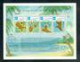SEYCHELLES 1976 Rural Posts. Miniature sheet. - 50631 - UHM