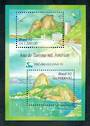 BRAZIL 1992 Tourism Year. Miniature sheet. - 50634 - UHM