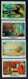 FRENCH POLYNESIA 1983 20th Century Paintings. Set of 4. - 50674 - UHM