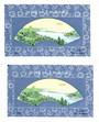 CHINA. 1983 Cinderella Fan Painting of River Scene. Miniature Sheet. - 50729 - UHM