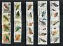 AITUTAKI 1981 Birds Definitives First series. Set of 36 in joined pairs. - 50801 - UHM