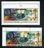 COOK ISLANDS 1990 Olympics. Strip of 3 and miniature sheet. - 50825 - UHM