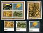 AITUTAKI 1986 Appearance of Halley's Comet. Set of 4 and 2 miniature sheets. - 50830 - UHM