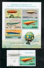 PENRHYN 1983 Bicentenary of Manned Flight. Set of 5 and miniature sheet. - 50838 - UHM