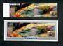 PENRHYN 1986 Appearance of Halley's Comet. Set of 2 and miniature sheet. - 50841 - UHM