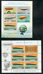 PENRHYN 1983 Bicentenary of Manned Flight. Set of 5 sheetlets and miniature sheet. - 50842 - UHM