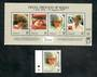 TOKELAU ISLANDS 1998 Diana, Princess of Wales Commoration. Miniature Sheet and single. - 50859 - CTO