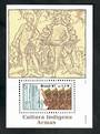 BRAZIL 1997 Indian Culture. Miniature sheet. - 50878 - UHM