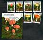 BENIN 1997 Fungi. Set of 6 and miniature sheet. - 50884 - CTO