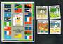 SOLOMON ISLANDS 1991 South Pacific Games. Set of 4 and miniature sheet. - 50885 - UHM