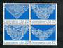 USA 1987 Lace making. Block of 4. - 50890 - UHM
