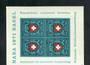 SWITZERLAND 1971 Naba '71 International Stamp Exhibition. Miniature sheet. - 50908 - UHM