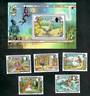 JERSEY 2005 Fairy Tales. Set of 5 and miniature sheet. - 50909 - UHM