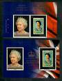 JERSEY 2013 60th Anniversary of the Coronation of Elizabeth 2nd	 Set of 2 and miniature sheet. - 50928 - UHM