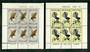 NEW ZEALAND 1965 Health. Set of 2 miniature sheets. - 50939 - FU