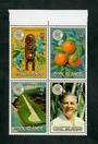COOK ISLANDS 1983 Commonwealth Day. Block of 4. - 50945 - UHM