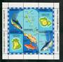 VANUATU 1983 Economic Zone. Miniature sheet. - 50951 - UHM