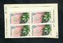 FALKLAND ISLANDS 1986 Definitive ½d Multicoloured. Block of 4 with the variety 'dot over DELIPIENE'. - 50980 - UHM