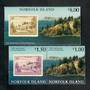 NORFOLK ISLAND 1997 50th Anniversary of Norfolk Island Stamps. Set of 3. - 50991 - UHM