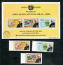 NAURU 1978 Centenary of the Death of Sir Rowland Hill. Set of 3 and miniature sheet. - 50999 - VFU