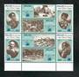 PALAU 1983 Bicentenary of the Voyage of Captain Henry Wilson. Block of 8. - 51003 - UHM