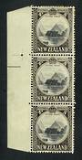 NEW ZEALAND 1935 Pictorial 4d Mitre Peak. Row 4/1 and 6/1 re entries. - 51023 - Mint