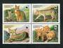 TAJIKISTAN 2002 Cats. Block of 4. - 51046 - UHM