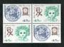 AUSTRALIA 1995 50th Anniversary of the Australia National Trust. Set of 6 including the block. - 51059 - UHM