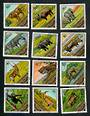 GUINEA Animals. Set of 12. - 51074 - VFU