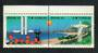 BRAZIL 1993 Union of Portuguese Speaking Capitals. Joined pair. - 51080 - UHM