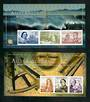 AUSTRALIA 1999 Australia '99 International Stamp Exhibition. Two miniature sheets. Imperf. - 51106 - UHM