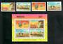 KENYA 1985 Energy Conservation. Set of 4 and miniature sheet. - 51116 - UHM
