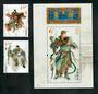 CHINA 2011 Duke Guan Yi. Set of 2 and miniature sheet. - 51118 - UHM