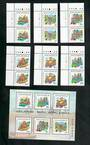 SINGAPORE 1999 Joint Issue with Hong Kong China. Set of 6 and miniature sheet. - 51119 - UHM