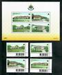 THAILAND 1999 King's Birthday. Set of 4 and miniature sheet. - 51129 - UHM