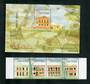 MACAO 1999 Tap Seac. Strip of 4 and miniature sheet. - 51133 - LHM