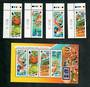 SINGAPORE 1996 Olympics. Set of 4 and miniature sheet. - 51175 - UHM