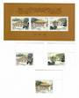 CHINA 1998 Masoleum of King Yandi. Set of 3 and miniature sheet. - 51837 - UHM