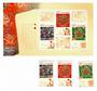 CHINA 2011 Yun Jin Cloud Brocade. Set of 3 and miniature sheet. - 51939 - UHM