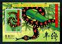 TOKELAU ISLANDS 2001 Hong Kong 2001 International Stamp Exhibition. Miniature sheet overprinted in Gold. - 52009 - CTO