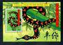 TOKELAU ISLANDS 2001 Chinese New Year. Year of the Snake. Miniature sheet. - 52010 - CTO