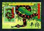 TOKELAU ISLANDS 2001 Chinese New Year. Year of the Snake. Miniature sheet. - 52013 - UHM