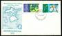 NEW ZEALAND 1970 Chatham Islands. Set of 2 on first day cover. - 520462 - FDC