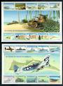 KIRIBATI 1993 50th New Zealand Battle of Tarawa. Two sheetlets of 10 in each. Complete. - 52125 - UHM
