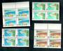 SAMOA 1966 Opening of the First Deep Sea Wharf. Set of 4 in blocks of 4. - 52156 - UHM