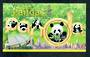 HONG KONG CHINA 1999 Giant Panda. Miniature sheet. - 52180 - UHM
